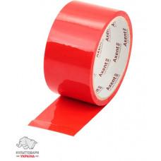 Лента клейкая упаковочная Axent 48 мм х 35 метров красная (3044-06-A)