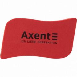 Губка для сухостираемой доски Wave Axent магнитная красная (9804-04-А)