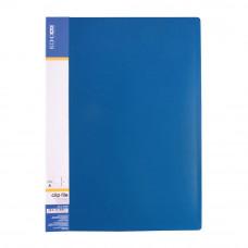 Папка-скоросшиватель Economix А4 Clip A пластик синий (E31201-02)