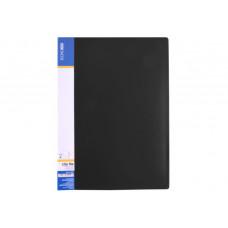 Папка-скоросшиватель Economix А4 Clip A пластик цвет черный (E31201-01)
