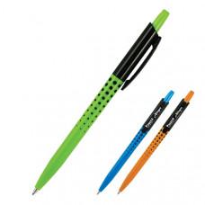 Ручка шариковая Axent Allegro автоматическая 0,5 мм  синяя (AB1041-02-A)