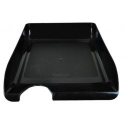 Лоток для бумаг горизонтальный Jobmax пластик черный (BM.6000-01)