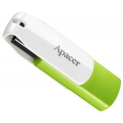 Флеш-память 32GB USB 2,0 APACER AH335 Green/White