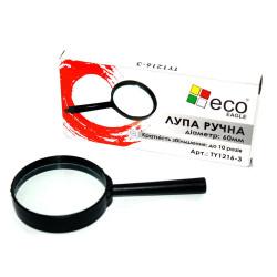 Лупа ECO Eagle D60 мм 10 кратное увеличение в пластиковой оправе (TY1216-3)