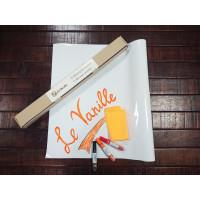 Маркерная пленка (наклейка) белая Le Vanille Эконом 1,2 метра (00700)