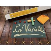 Магнитно-грифельная пленка (наклейка, маркерные обои) зеленая Le Vanille 1,2 метра (00708)
