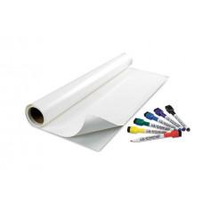 Маркерная пленка (наклейка) белая глянцевая Le Vanille Professional 1,27 метра (00709)