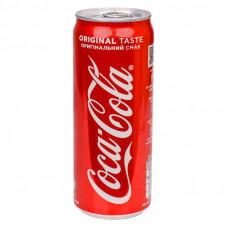 Напиток Coca-Cola безалкогольный сильногазированный ж/б 0,33 л
