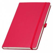 Записная книга на резинке А5 Эко Appeel линия 192стр. красный (13924741)