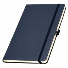 Записная книга на резинке А5 Эко Appeel линия 192стр. синий (13924747)
