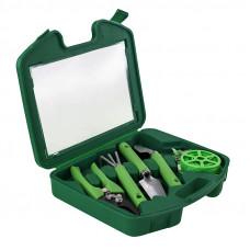 Портативный набор садовых инструментов GARDENIA 5 в 1  в чемодане (1750T)