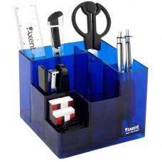 Набор настольный Cube Axent 9 предметов синий ( 2106-02-A)