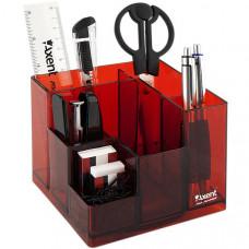 Набор настольный Cube Axent 9 предметов красный ( 2106-06-A)