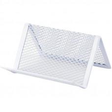 Подставка для визиток Axent металл. сетка белый ( 2114-21-A)