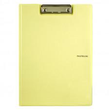 Папка-планшет (Папка клипборд) A4 Pastelini Axent желтый (2514-26-A)