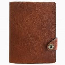 Ежедневник планер Privilege А5 кожаный, коричневый с золоченым срезом страниц (25205-Br)