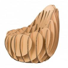 Кресло из гофрокартона