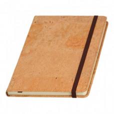 Записная книга на резинке А5 Эко Portel чистая (39348060)