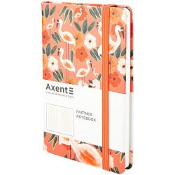 Книга записная Partner BBH гибкая PU обложка с ярким дизайном Flamingo 125х195 мм 96 листов в клетку (8210-02-A)