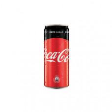 Напиток Coca-Cola Zero безалкогольный ж/б 0,33 л