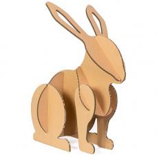 Заяц из гофрокартона Rabbit