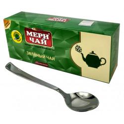 Индийский чай Мери Чай зеленый 25 пакетиков