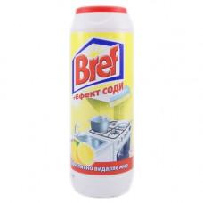 Порошок для чистки Bref + Эффект соды Лимон 500 г
