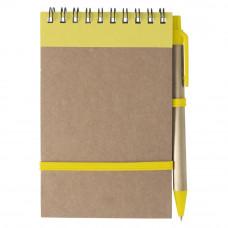 Блокнот с ручкой А6(95541006)