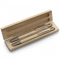 Эко набор подарочный в футляре ручка+механический карандаш (95574111)