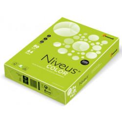 Бумага цветная офисная Mondi Niveus Color А4 80 г/м2 500 листов интенсив лайм (A4.80.NVI.LG46.500)