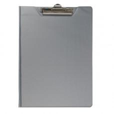 Папка-планшет (Папка клипборд) A4 BuroMax серый (BM.3415-09)