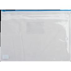 Папка на молнии A4 BuroMax zip-lock синий (BM.3946-02)