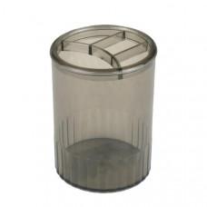 Стакан для ручек Axent 4 отделения пластик дымчатый ( D4009-28)