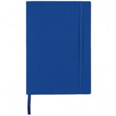 Блокнот деловой А5 96 листов линия обложка искусственная кожа темно-синий (BUR. 162-B25-03)
