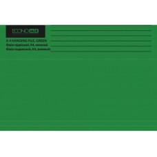 Файл (Папка, обложка) подвесной для картотеки Economix А4 картонный зеленый (E30202-04)