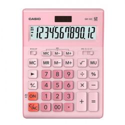 Калькулятор Casio 12 разрядный розовый 155х209х34.5 мм (GR-12C-PK-W-EP)
