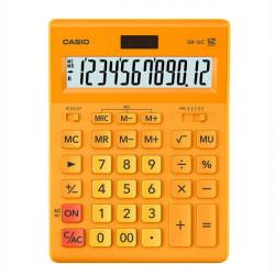 Калькулятор Casio 12 разрядный оранжевый 155х209х34.5 мм (GR-12C-RG-W-EP)