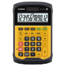 Калькулятор Casio 12 разрядный водонепроницаемый 169х109х33 мм (GR-12C-RG-W-EP)