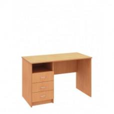 Стол письменный с опорной тумбой Бюджет Плюс 1200х600 мм (BS303)