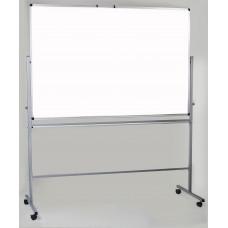 Магнитная доска оборотная мел/маркер 100х150 см Ukrboards (UB-R100х150GW)