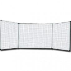 Маркерная доска настенная 100х400 см Ukrboards 5 рабочих поверхностей (UB100x400W)