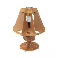 Светильник настольный из гофрокартона (x00380)