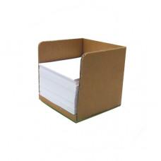 Подставка-куб из гофрокартона под бумагу /50 штук/ (x00639)
