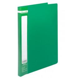 Папка-скоросшиватель JOBMAX А4 Clip A пластиковая цвет зеленый (BM.3406-04)