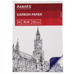 Бумага копировальная Axent А4 100 листов синяя (3301-02-A)