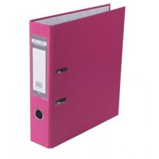 Папка-регистратор 7 см BuroMax А4 односторонняя цвет розовый (BM.3011-10c)