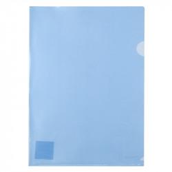 Папка-уголок Axent А4 прозрачный пластик цвет синий 170 мкм (1434-22-А)
