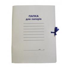 Папка на завязках картонная А4 BUROMAX 0,41 мм (BM.3357)