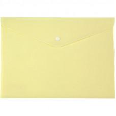 Конверт на кнопке Axent Pastelini А4 желтая (1412-08-A)