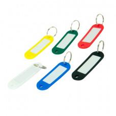 Брелок для ключей BuroMax пластиковый цветной (BM.5473-99)